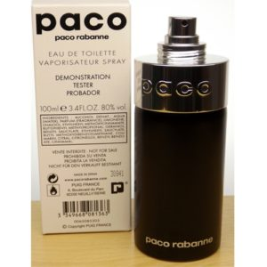 TESTER Pacoby Paco Rabanne Unisex 100ml EDT Spray1