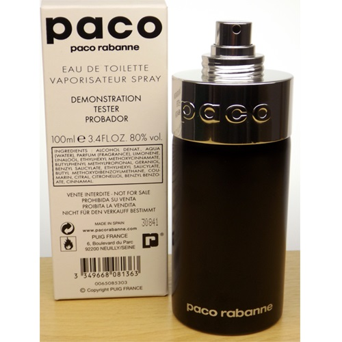 Paco by paco rabanne unisex 100ml for Paco rabanne women s fragrance