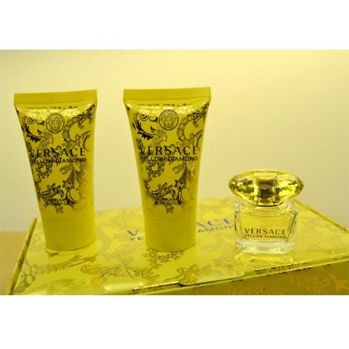 versace yellow diamonds mini perfume. Black Bedroom Furniture Sets. Home Design Ideas
