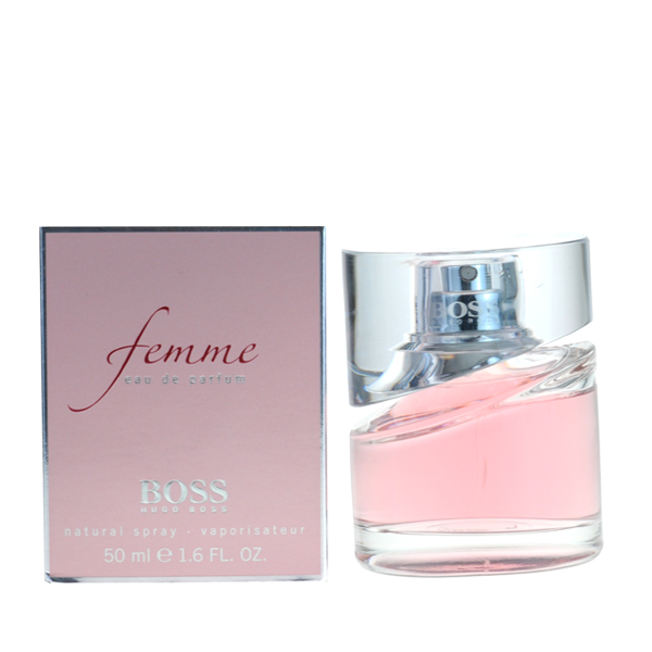 hugo boss femme 50ml perfume aftershave and fragrance in ireland. Black Bedroom Furniture Sets. Home Design Ideas