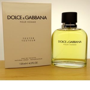 TESTER DOLCE & GABBANA Pour Homme EDT spray 125ml1