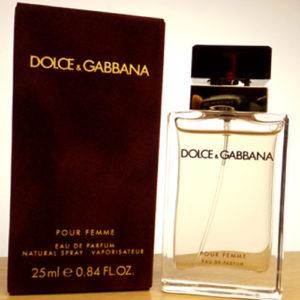 DOLCE & GABBANA Pour Femme 2012 EDP spray 25ml1