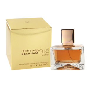 David Beckham Intimately Yours Women EDT 75ml